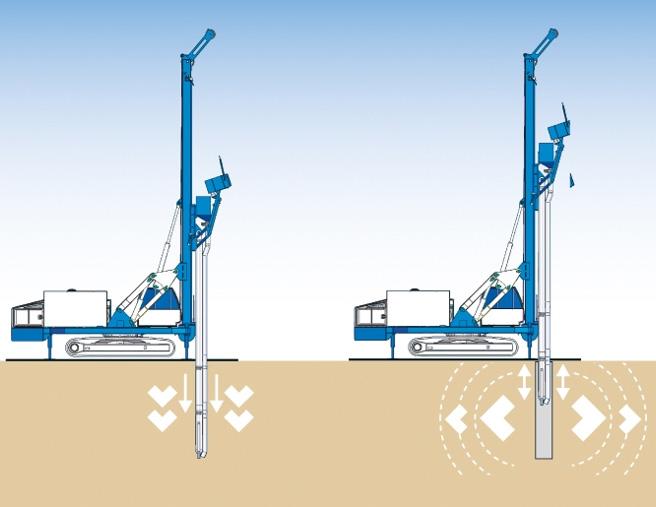 Schéma de réalisation des colonnes ballastées